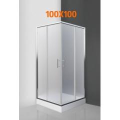 Душевые уголки 100x100