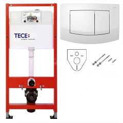 Комплект инсталляции с панелью смыва TECE base+ambia К400200