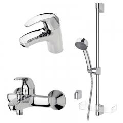 Набор смесителей для ванны и душа 3 в 1 Oras Polara
